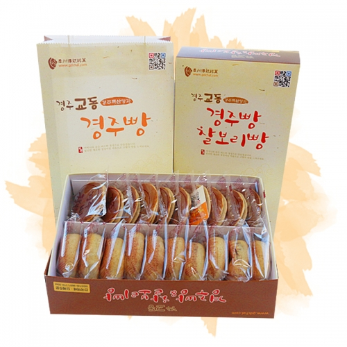 찰보리빵+경주빵각10EA